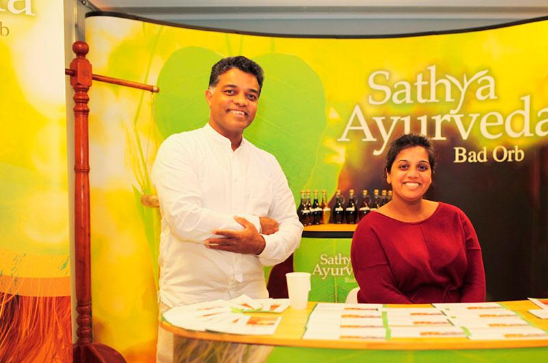 EWAC Gesundheitsmesse, Stand, Sathya Ayurveda Bad Orb